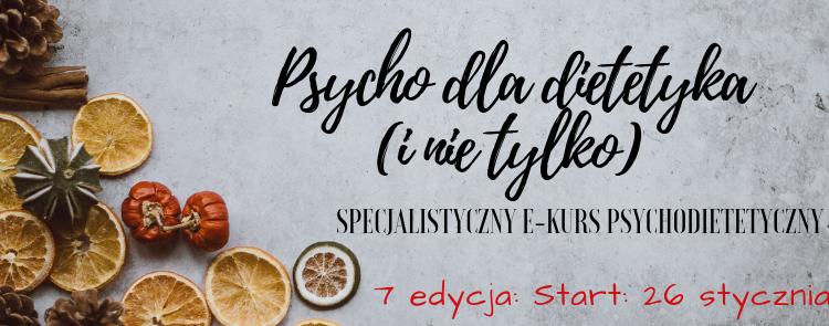 E-kurs Psychodietetyczny